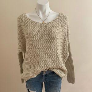 RD Style Knit Dolman Sleeve Sweater